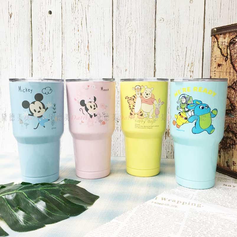 冰壩杯 Disney 皮克斯 米奇 米妮 小熊維尼 玩具總動員4 巴斯光年 900ml 不鏽鋼冰壩杯 正版授權