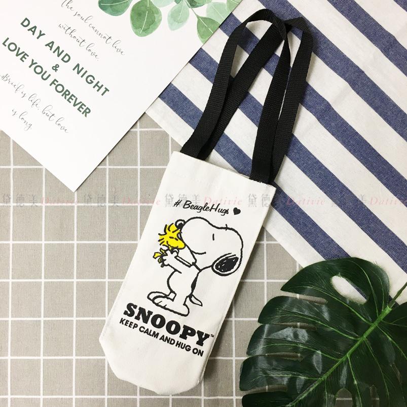 Snoopy 長型保溫冷提袋 飲料提袋  史努比 正版授權