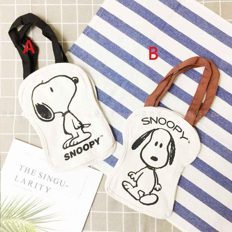 Snoopy 造型提袋 收納 兩款 史努比 正版授權