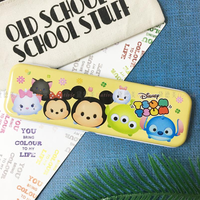 Tsum Tsum單層鐵筆盒 迪士尼 正版授權