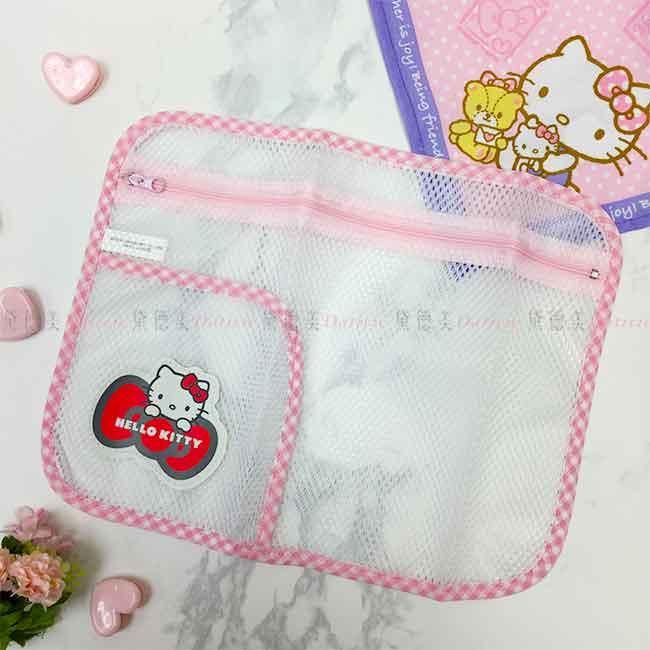 Hello Kitty 透氣收納袋 洗衣袋 生活百貨 日本進口