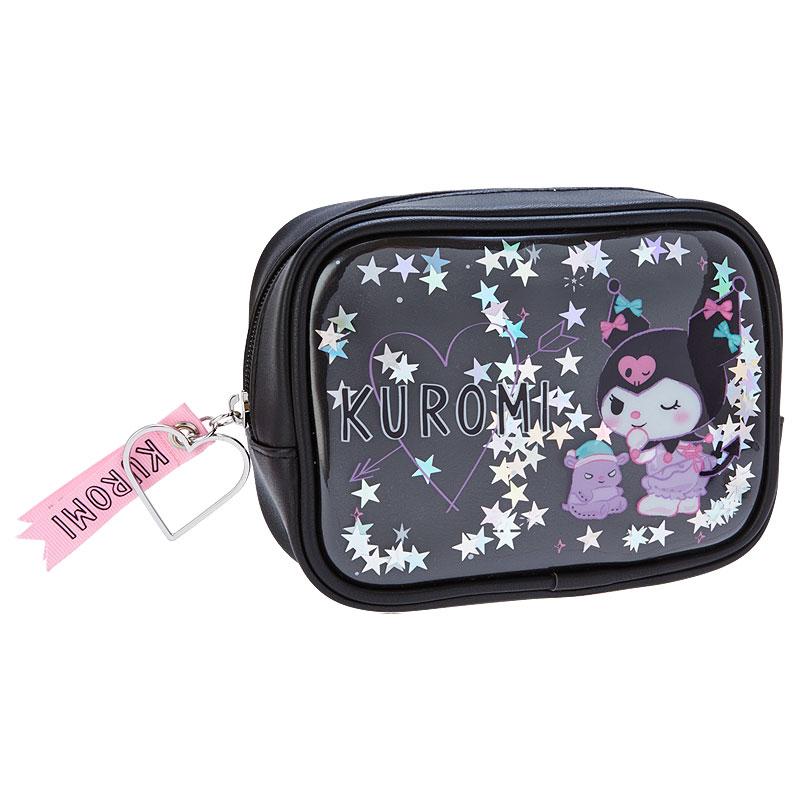 酷洛米 亮片收納包 化妝包 收納 日本進口