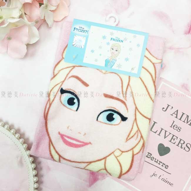 童巾 迪士尼 冰雪奇緣 Elsa 艾莎 100%棉 毛巾 正版授權