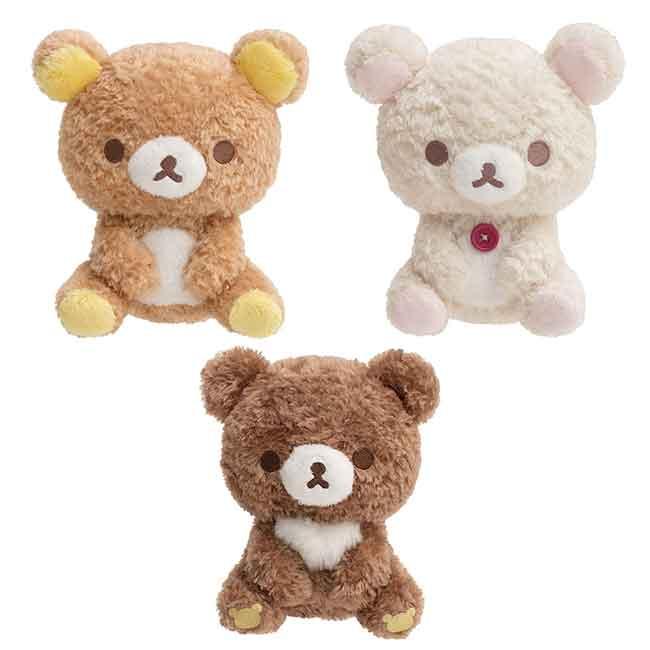 SAN-X 懶懶熊  絨毛娃娃 三款 日本進口