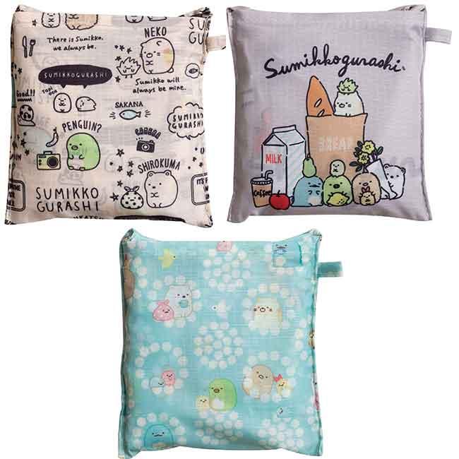 SAN-X 角落生物 收納環保袋 購物袋 三款 日本進口