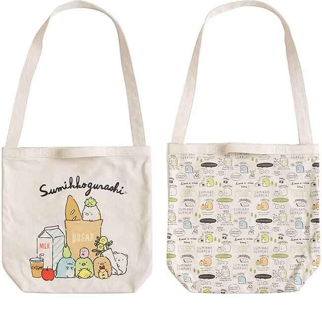 SAN-X 角落生物  帆布提袋 購物袋 帆布袋 兩款 日本進口