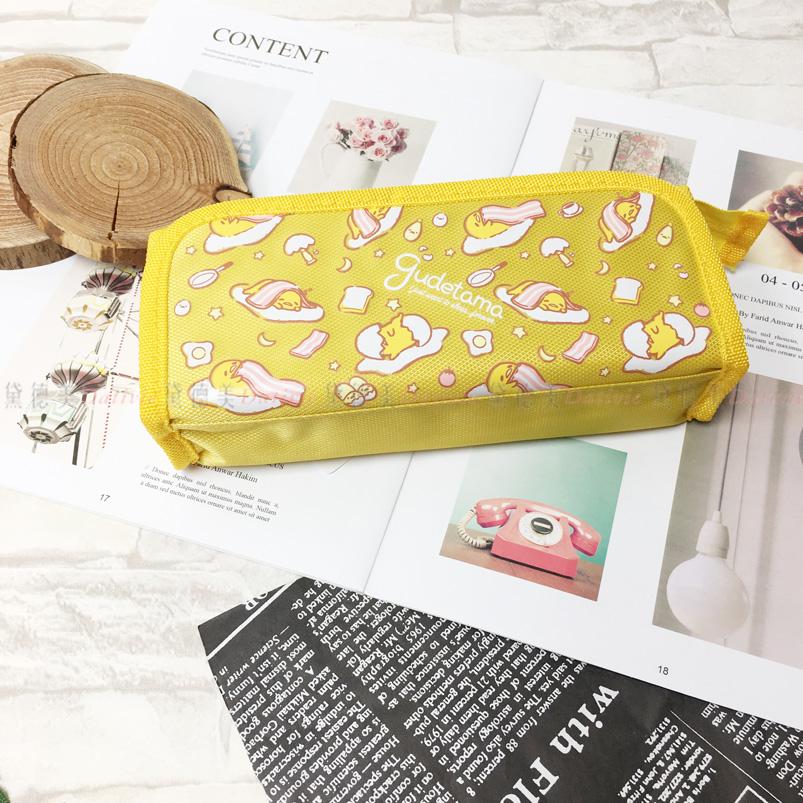鉛筆盒 蛋黃哥 三麗鷗 前折疊筆袋 收納 正版授權