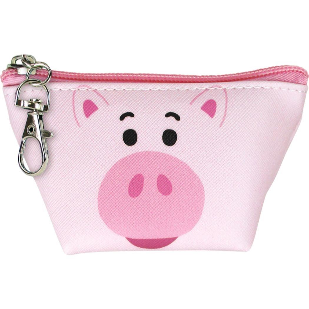 迪士尼 玩具總動員 火腿豬 收納包 小豬 零錢包 日本進口
