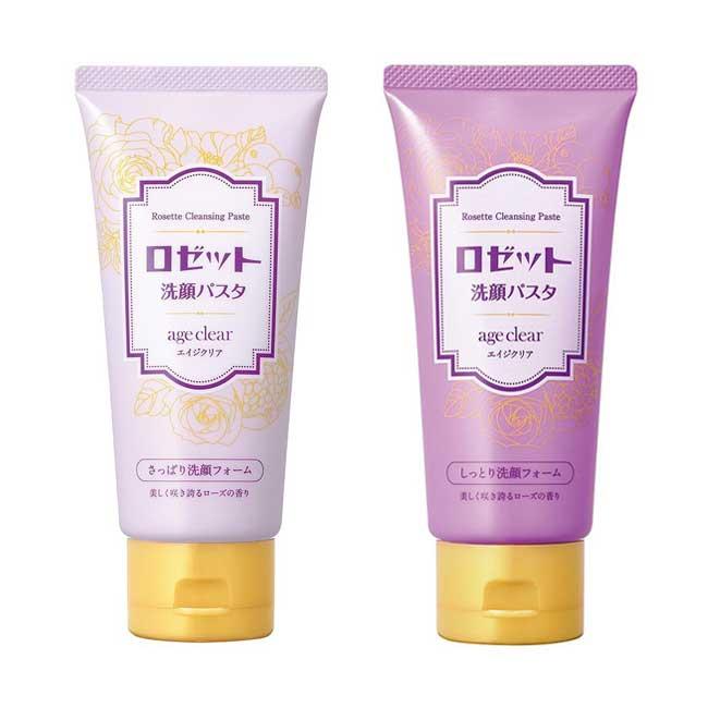 洗面乳 日本 ROSETTE 抗老潔淨系列 大齡女子專用 清爽透亮 保濕緊緻 120g 日本製