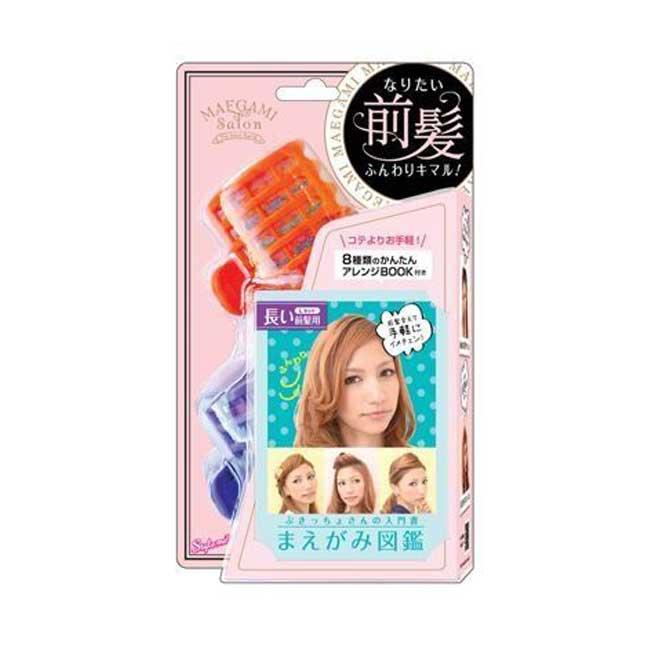 瀏海捲髮器 Lucky Trendy 整理瀏海 蓬鬆捲髮 美髮用具 2入 台灣製