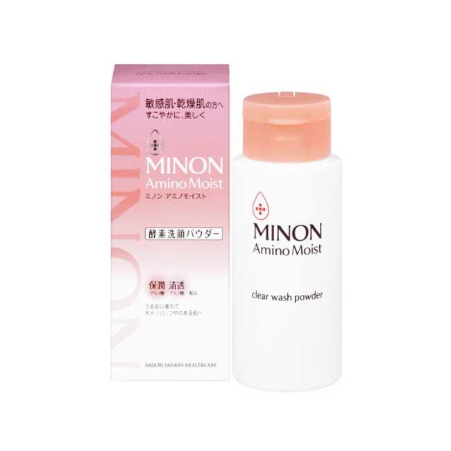 洗顏粉 日本 MINON 蜜濃 胺基酸系列 敏弱潤澤酵素洗顏粉 去角質 保濕水潤 35g 日本製造進口