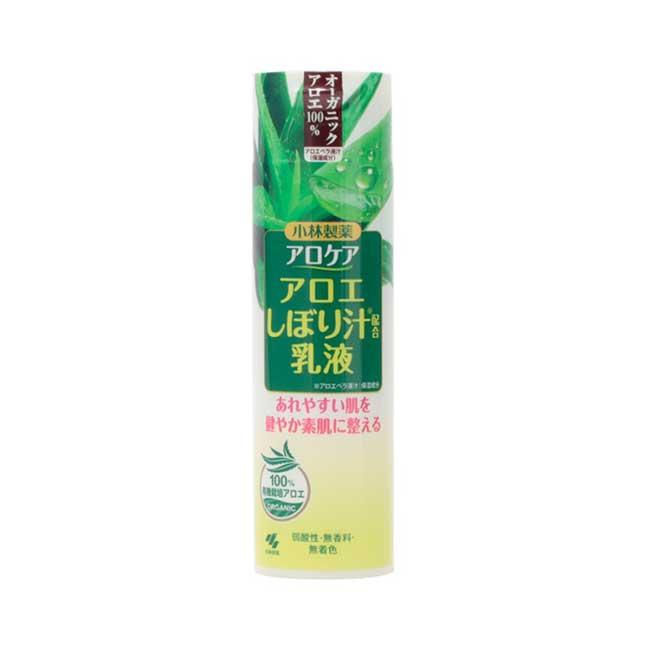乳液 日本 KOBAYASHI 小林製藥 蘆薈精華保濕乳液 溫和滋潤 修復曬後肌膚 180ml 日本製造進口