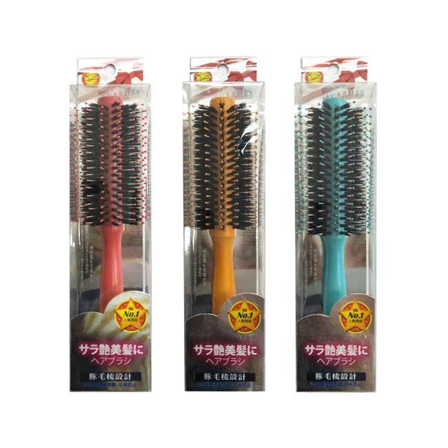 捲髮豚毛梳 Straw man 特殊髮針 不易打結 防靜電 不毛燥 梳子 梳妝用具