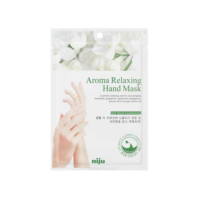 修復手膜 韓國 niju 香氛舒緩修復手膜 改善皮膚粗糙 回復光澤 16ml 韓國製造進口