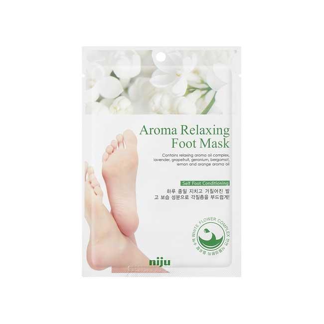 修復足膜 韓國 niju 香氛舒緩修復足膜 改善皮膚粗糙 回復光澤 16ml 韓國製造進口