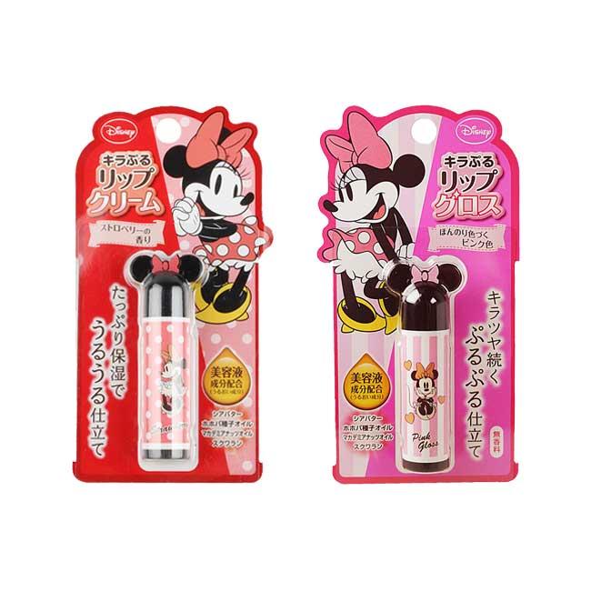 護唇膏 日本 CBIC 迪士尼 米妮 保濕光潤護唇膏 滋潤 不黏膩 4.4g 日本製造進口