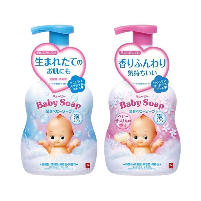 沐浴乳 日本 牛乳石鹼 Q比 嬰兒用 泡泡沐浴乳 洗澡 400ml 日本製造