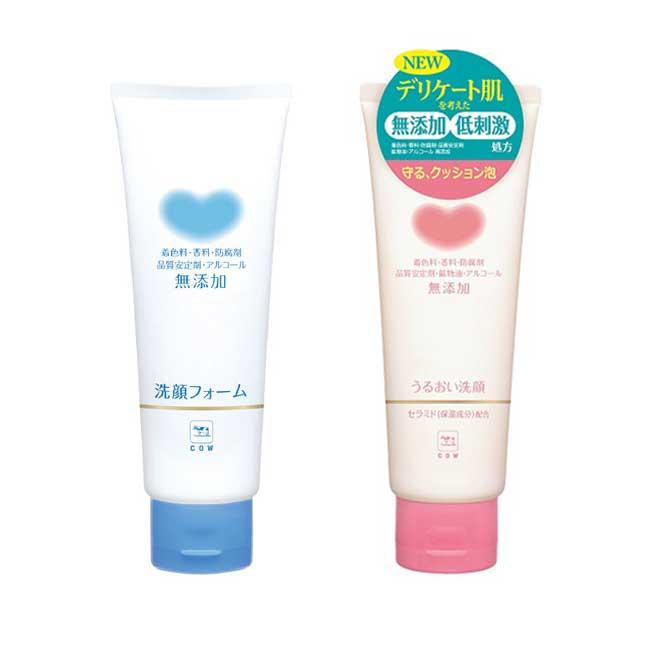 洗面乳 日本 牛乳石鹼 保濕洗面乳 無色素無香料 質地溫和 不刺激 110g 日本製造