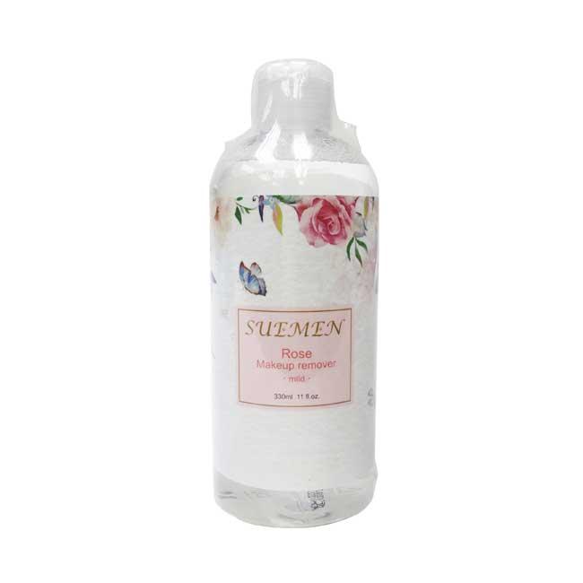 卸妝水 雪漫 玫瑰高保濕溫和卸妝液 天然溫和 清爽不黏膩 330ml