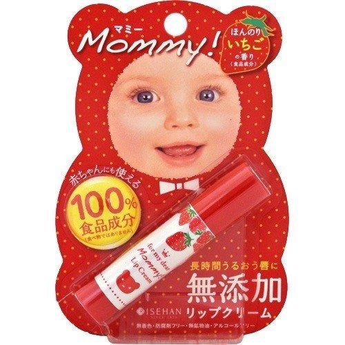 護唇膏 KISS ME 親子護唇膏 保濕 草莓香 無添加 低敏 日本製