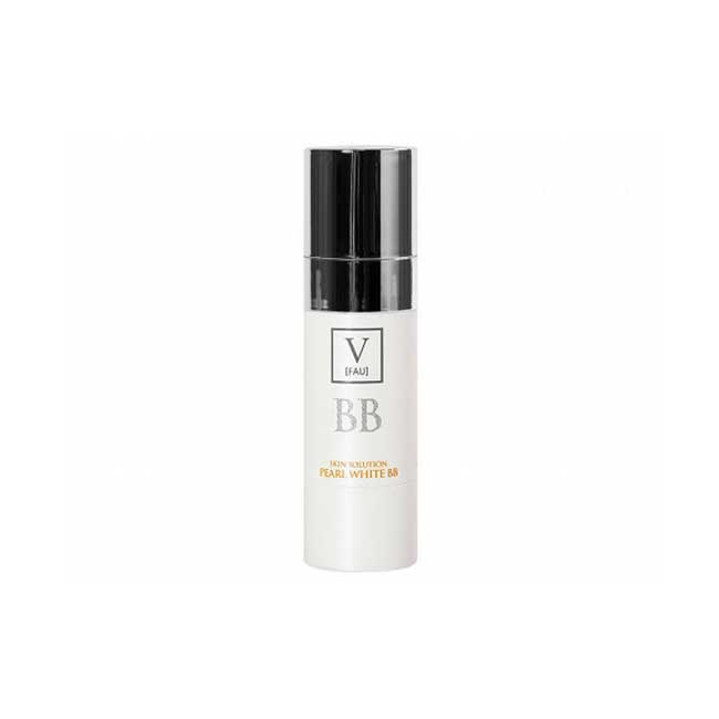 BB霜 韓國 V-FAU 珍珠提亮遮瑕BB霜 提亮肌膚 輕薄服貼 30g 韓國製造進口