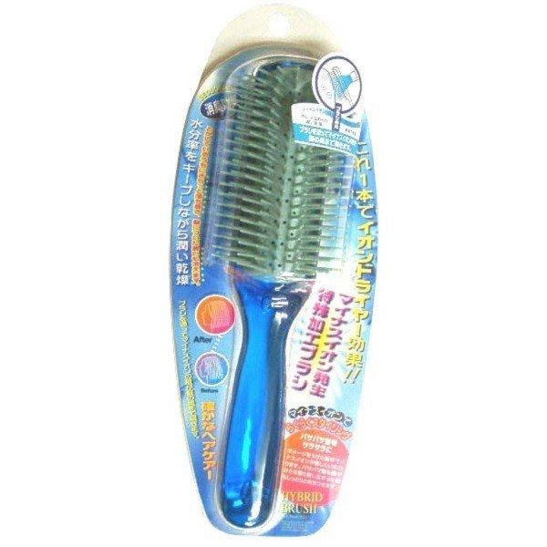 髮梳 日本 負離子消臭保濕順髮梳 電氣石 消除靜電 消臭效果 促進養分浸透 梳子 PR-4900 日本製造進口