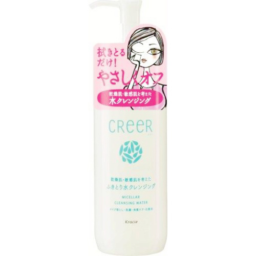 卸妝水 Kracie CREER CLEANSING WATER4合1卸妝溫泉水 化妝水 日本製