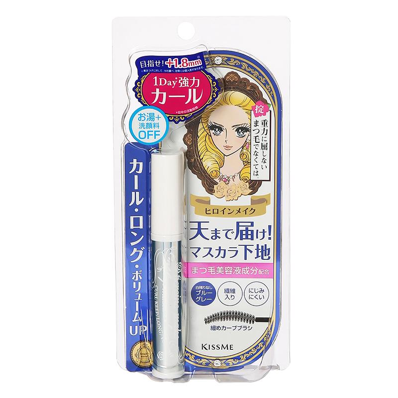 睫毛膏 Kiss me花樣美姬 一刷捲翹接毛底膏 日本製