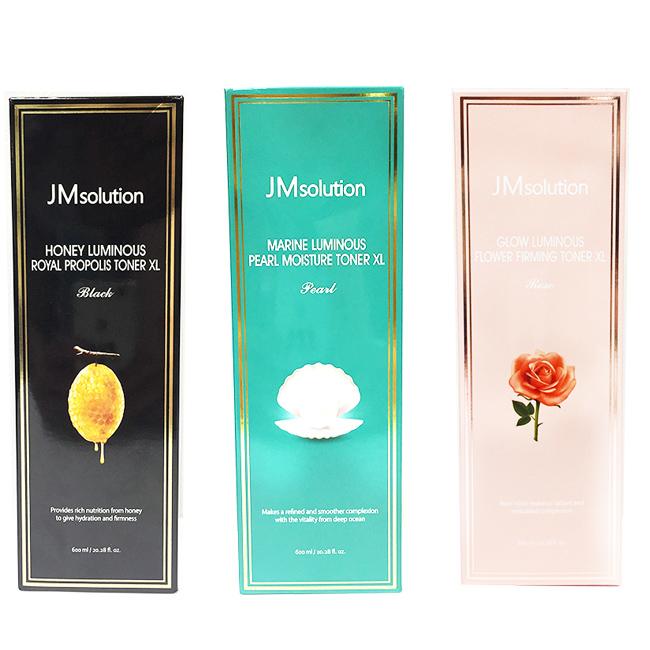 化妝水 JMsolution 盈潤蜂膠補水緊緻 海洋珍珠保濕 水光玫瑰補水滋潤 滋養肌膚 韓國製