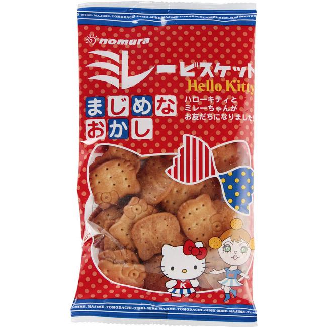 餅乾 日本 Kitty造型餅乾 鹹餅 100g 日本製造進口