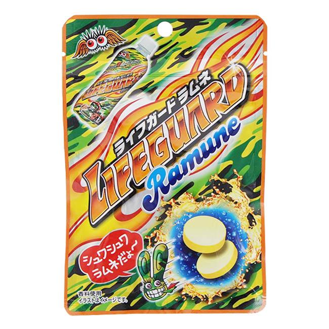 糖果 日本 蘇打 汽水糖錠 28g 日本製造進口