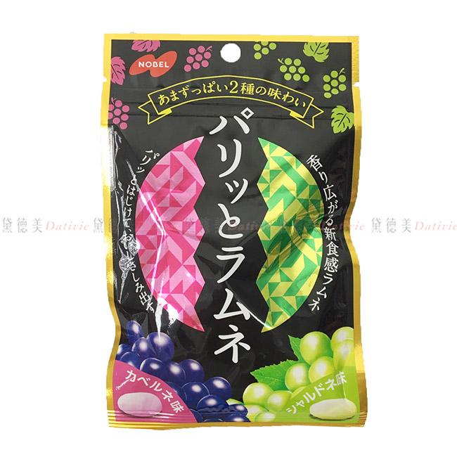 糖果 日本 NOBEL 葡萄 風味 汽水糖 45g 日本製造進口