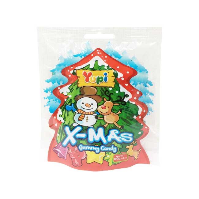 糖果 Yupi 聖誕系列 綜合水果口味 軟糖 QQ糖 甜食 80g