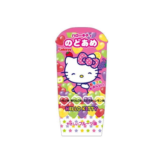 糖果 日本 kabaya Hello Kitty 心型 綜合口味 水果糖 硬糖 35g 日本製造進口