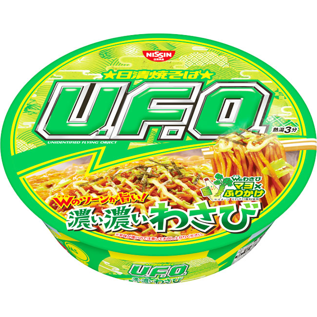 泡麵 日清食品 山葵風味炒麵 112g 日本製造進口