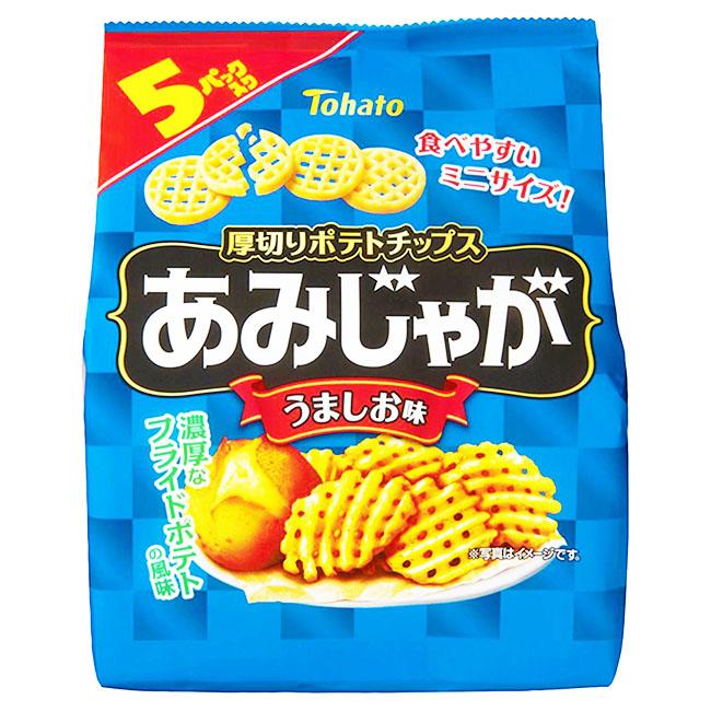 餅乾 東鳩 5入鹽味薯片 5入/85g 日本製造進口