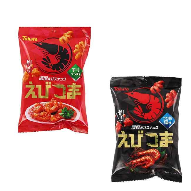 餅乾 日本 東鳩 造型蝦餅 辛辣 鹽味 45g 日本製造進口