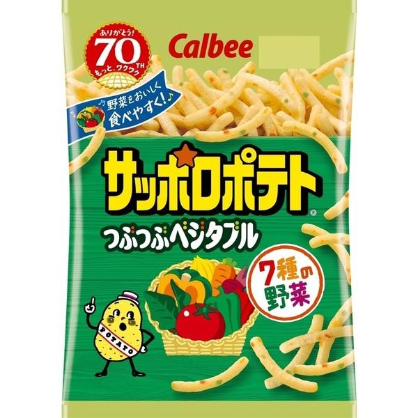 餅乾 日本 Calbee  七種蔬菜薯條 80g 日本製造進口