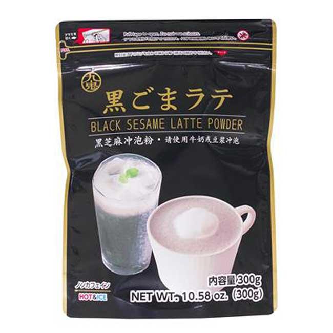 黑芝麻沖泡粉 粉末 300g 日本製造進口