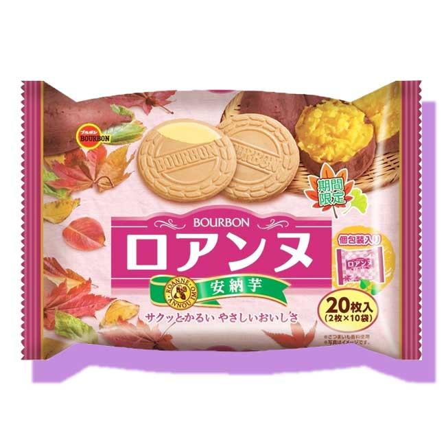 安納芋法蘭餅 夾心餅乾 20枚入 日本製造進口