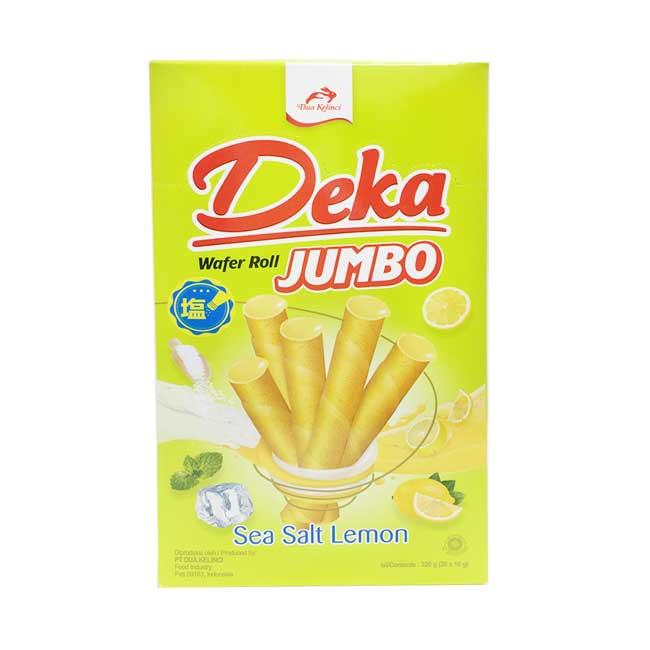 Deka 夏日檸檬味雪茄威化捲 Sea Salt Lemon 印尼製造進口
