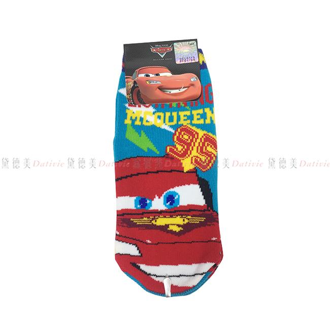 12-14cm 台灣製 迪士尼 汽車總動員 CARS 直版襪 閃電麥坤 止滑 兒童