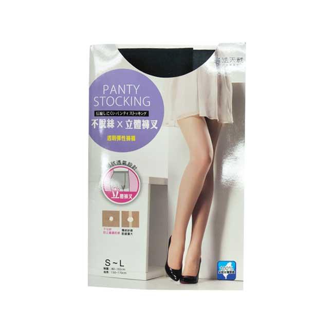 絲襪 魔法天裁 透明彈性褲襪 網狀透氣 不勾紗 立體褲叉 舒適彈力 不緊繃 S~L 台灣製造