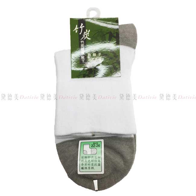 襪子 竹炭 健康襪 靴下 負離子 遠紅外線 22~26CM 台灣製 正版授權
