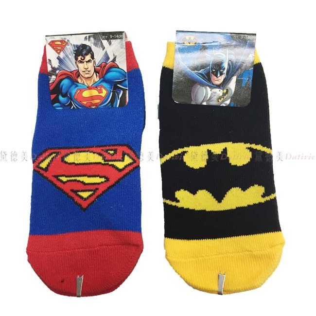 襪子  寶寶襪 兒童襪 漫威系列 蝙蝠俠 超人 直版襪 9~14CM 正版授權