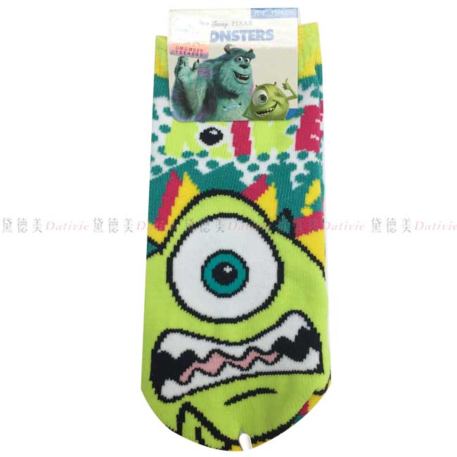 襪子 怪獸大學 兒童襪子 迪士尼 12~14 止滑 正版授權