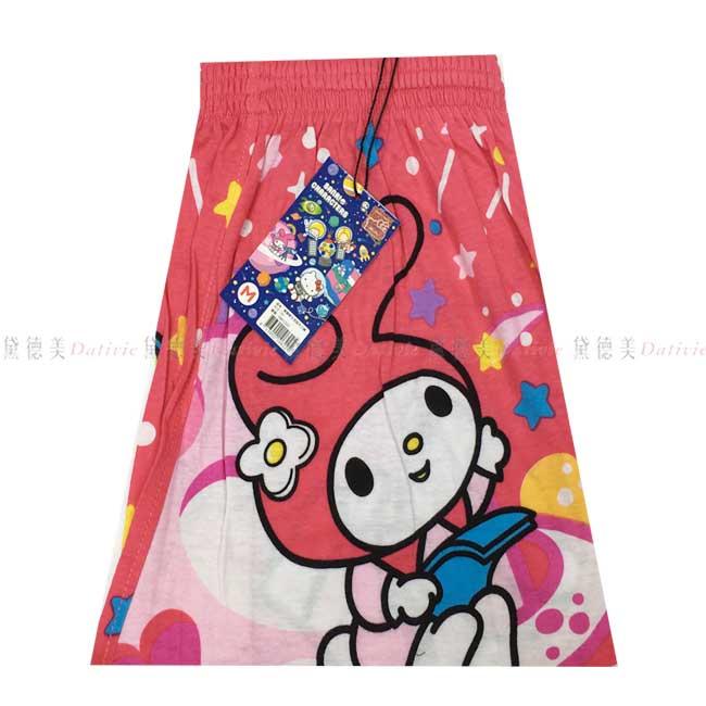 內褲 美樂蒂 三麗鷗 太空版 平口褲 四角褲 M~XL 正版授權
