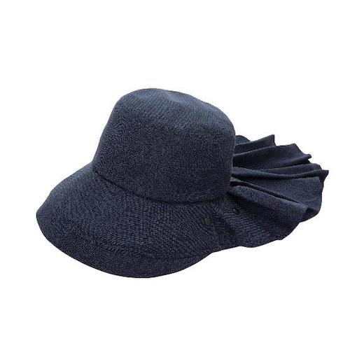 貴婦百貨 抗UV 遮陽帽 藍 後加大 全遮蓋 3way用法 uv帽 遮熱 防曬帽 遮陽 淑女帽 日本進口