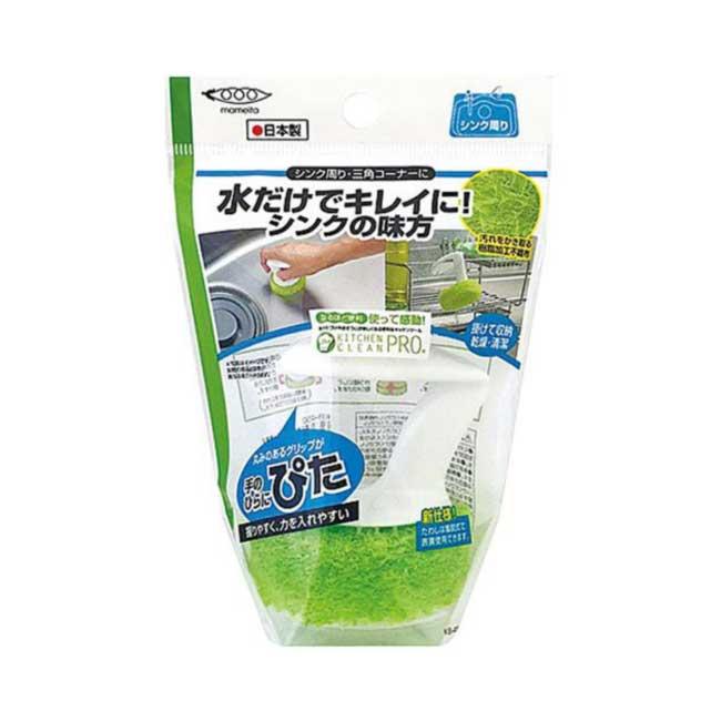 電磁爐清潔刷 日本 mameita 廚房清潔 菜瓜布 不織布海綿 日本製造進口