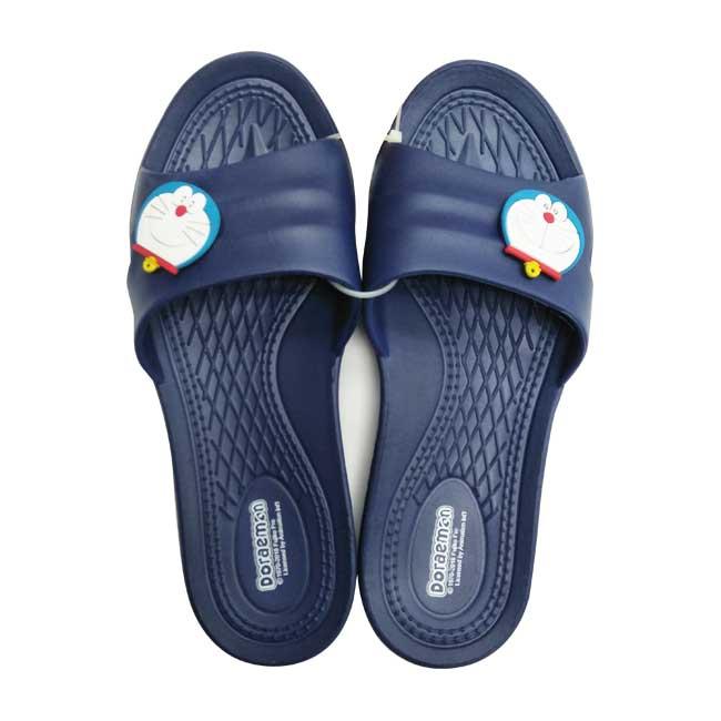 拖鞋 Doraemon 哆啦a夢 防水 防滑耐磨 環保 多款尺寸 居家拖鞋 藍色 正版授權